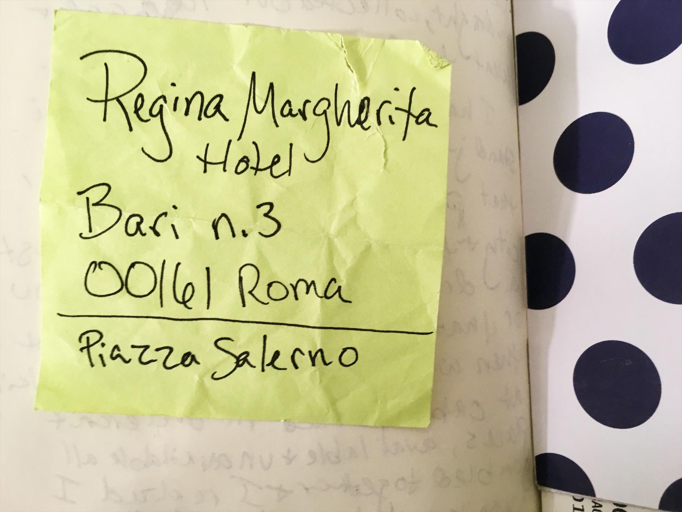 Rome hotel Address