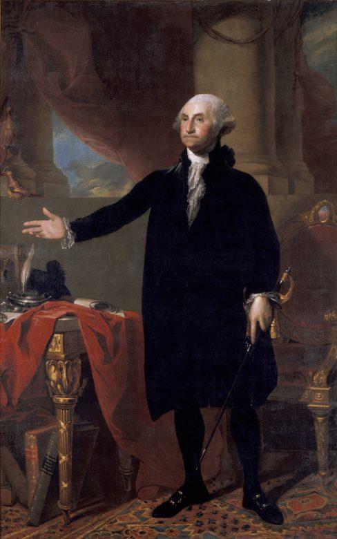 Washington portrait by Stuart