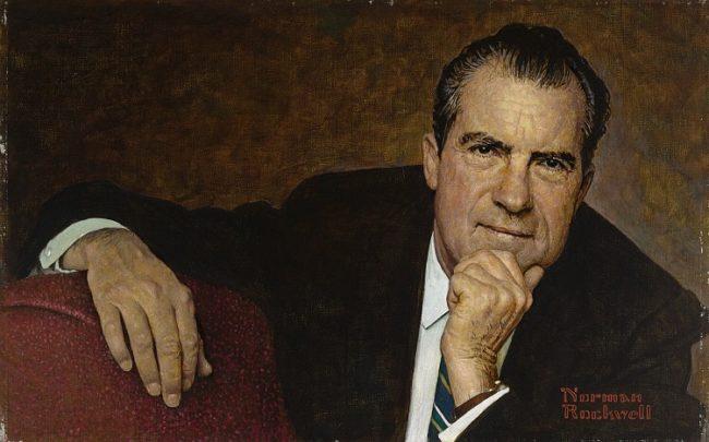 Nixon by Rockwell