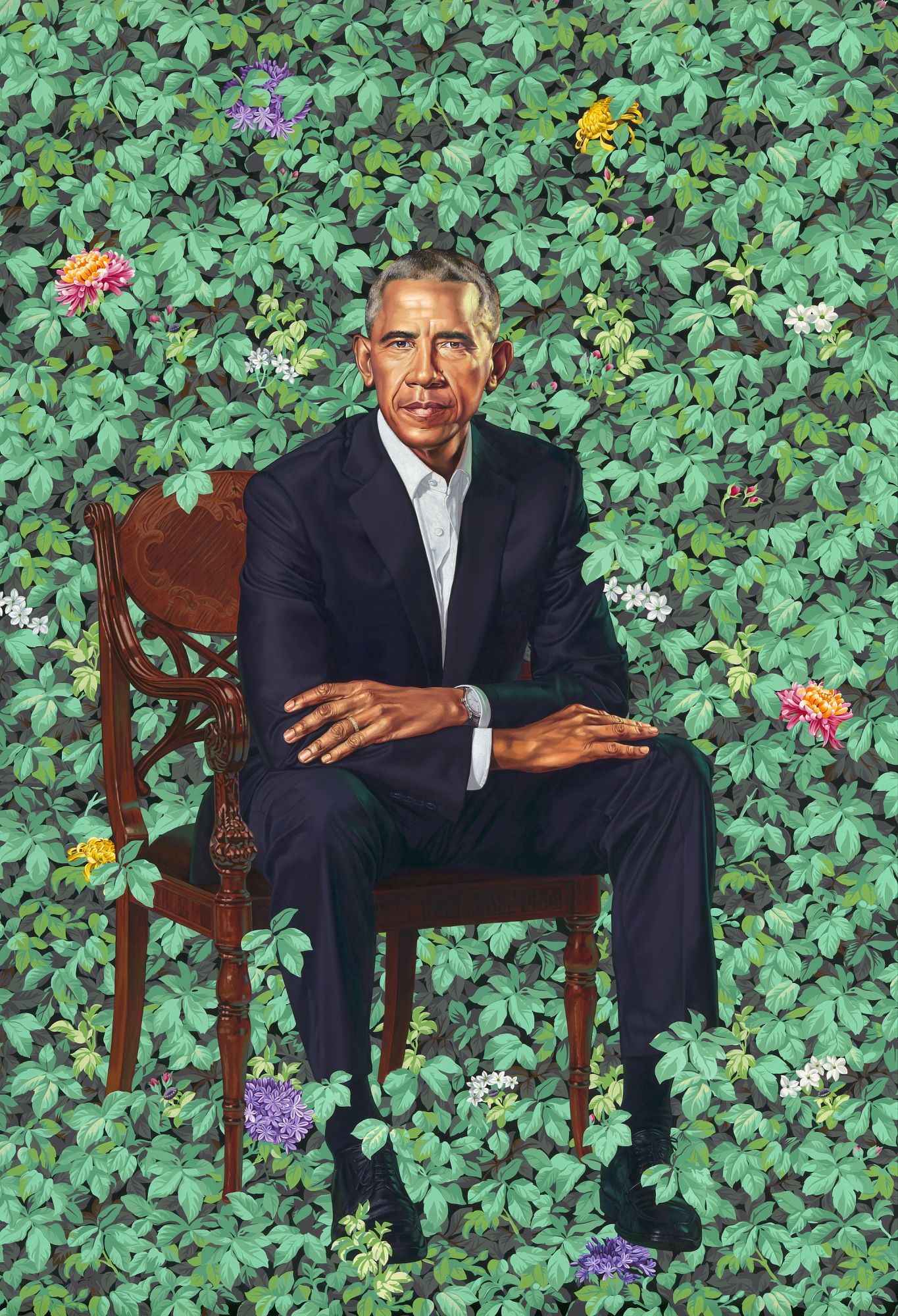 President Barack Obama by Kehinde Wiley